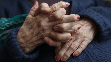 There is a 22-month waiting time for home care packages in aged care.