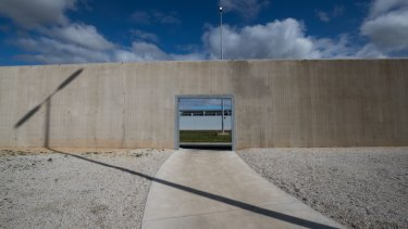 The Olearia Unit at Barwon Prison opened last year.