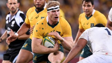 David Pocock is set to make his return to the Wallabies side in the first Test against Ireland.