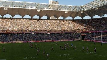 Parramatta's Bankwest Stadium.