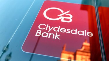 Shares in Clydesdale Bank's parent company have been punished after a blowout in costs relating to dubious insurance.