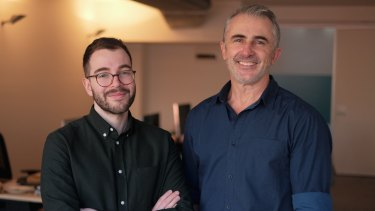 Wildcard co-founders Nathan Tesler  and Randall Maccan.