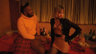 Kiddy Smile and Sofia Boutella in Gaspar Noe's impressionistic meltdown, Climax.