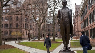Yale was one of several elite universities that accepted students after bribes or false test results.