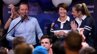 Tony Abbott concedes defeat in Warringah.