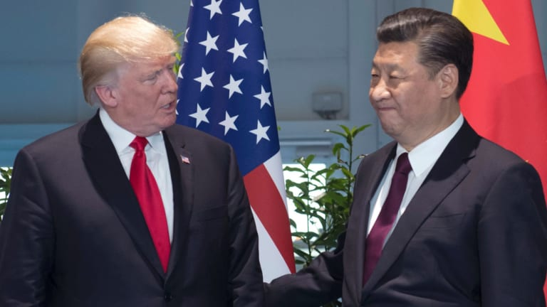 'Like two 8-year-old's in a staring contest': market reaction has been muted so far to the US-China trade war but things could change.