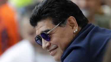 """People think I am happy but my heart is heavy"": Diego Maradona."