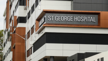 St George Hospital had training accreditation withdrawn from its ICU.
