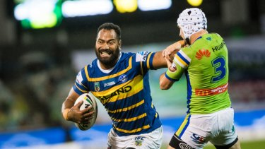 Parramatta sacked forward Tony Williams last year after he was banned for a second strike under the NRL's illicit drugs policy.