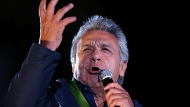 Ecuadorean President Lenin Moreno has looked for ways to remove Julian Assange from the London embassy.