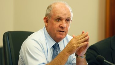 Senator John Williams grilled Westpac about a 30-year loan to a 97-year-old woman with dementia.