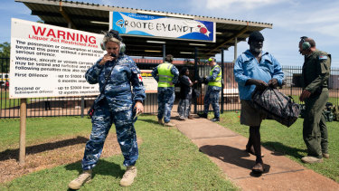 The Australian Defence Force is assisting the Northern Territory Government to evacuate remote communities in the path of Cyclone Trevor.