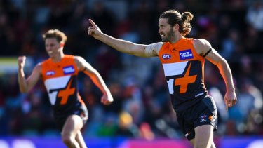 Callan Ward and the Giants have a remarkable record in Canberra.