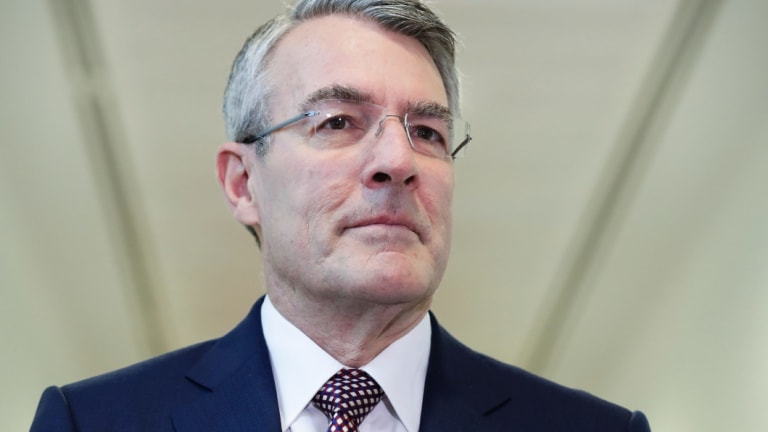 Shadow attorney-general Mark Dreyfus, whose record suggests he won't push particularly hard against security agencies in government.