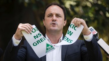 Jeremy Buckingham quit the Greens in December.