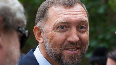 Russian metals magnate Oleg Deripaska.