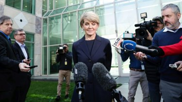 Julie Bishop has added her considerable moral weight to reports of bullying in the Liberal Party.