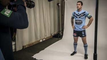 Mitchell Pearce can rewrite his Origin history with a Blues victory on Wednesday.
