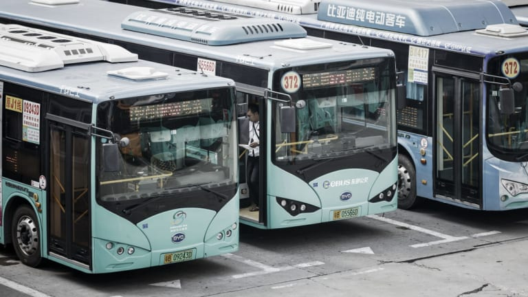 Chile hopes to emulate China's mass rollout of electric buses.