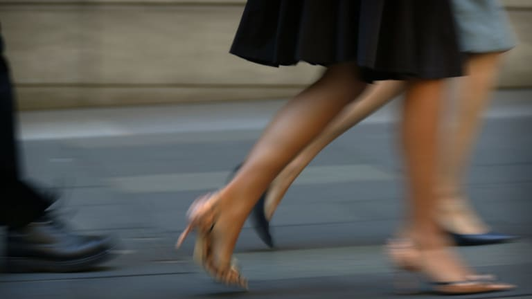 The pay gap between men and women stands at 15 per cent in favour of men.