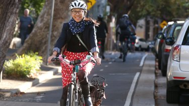 Bike paths are an election issue throughout all of the city on March 23.