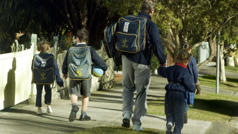 The National School Resourcing Board recommended family size should be integrated into the funding formula as it reduces parents' capacity to pay fees.
