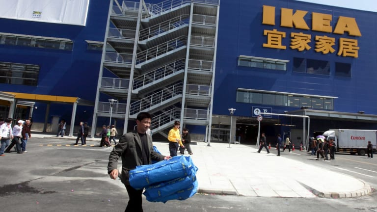 Ikea Leaves | Ikea Apple Lose Their Lustre As Chinese Shoppers Turn Their Eyes To