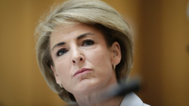 Minister for Jobs and Innovation Michaelia Cash has been under pressure over the inquiry.