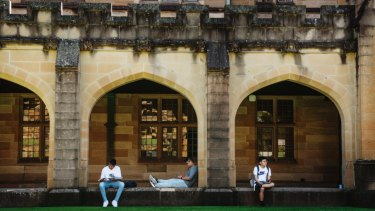 A factor in Sydney's strong population growth has been a boom in foreign student numbers.