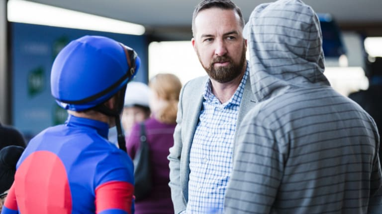 Nick's time: Canberra trainer Nick Olive is targeting a treble at Sapphire Coast on Wednesday.