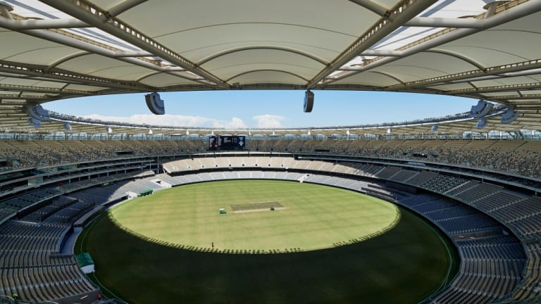 Ticket sales are sluggish for the second Test at Optus Stadium.