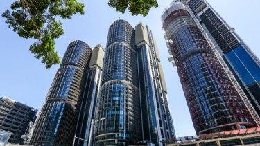 Lendlease's Barangaroo development in Sydney.