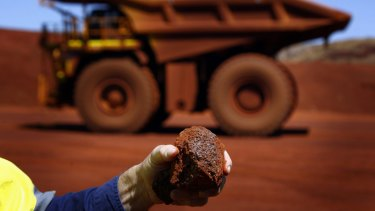 Fortescue is going ahead with a high grade iron ore mine i the Pilbara.