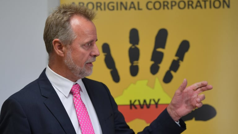 Indigenous Affairs Minister Nigel Scullion is in a dispute with the WA Government over funding for remote Aboriginal communities.