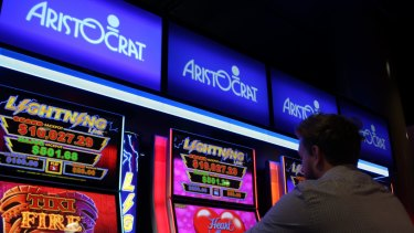Aristocrat Leisure has upped its bet on the booming social gaming market.