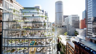 Charter Hall's 333 George Street in Sydney is seen as a frictionless office.