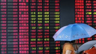 The 10 per cent fall in the Shanghai stock market over the past weeks might not be wholly attributable to the trade war.