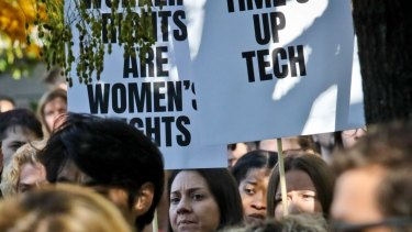 Google staff in New York, Google staff in Sydney also protested.