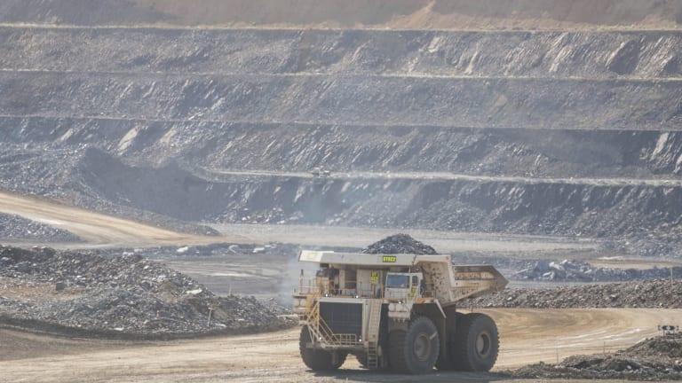 Sino Iron's mine in the Pilbara.