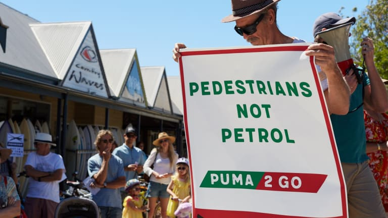 The 24-hour petrol station was slated for Dunsborough's main strip Dunn Bay Road.
