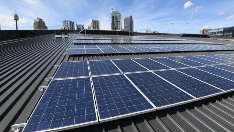 Solar power is in demand.