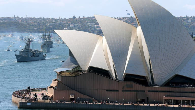 The Opera House opened in 1973.