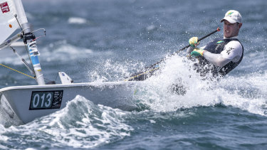 Matt Wearn's second placing completed a memorable event for Australian sailing.