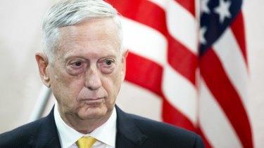 Stepping down: James Mattis, US Secretary of Defence