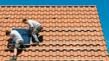 The AGL energy trading market place allows people without solar panels to benefit from excess solar power. generation.