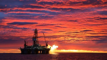 Cooper Energy's Sole gas project off the coast of Victoria.