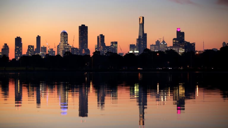 Melbourne has fallen to second place on the rankings.