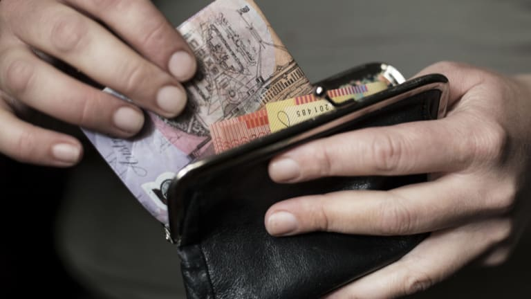 Studies show people spend more when using credit than they do with cash.
