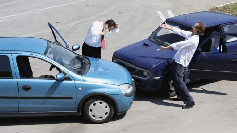 The inconvenience of a car accident