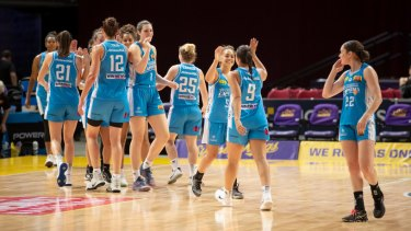 The Canberra Capitals will finish top of the WNBL ladder for the first time in 10 years.